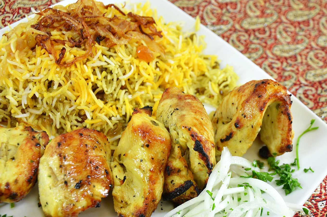 Chicken Kebob - Persian Style Cooking